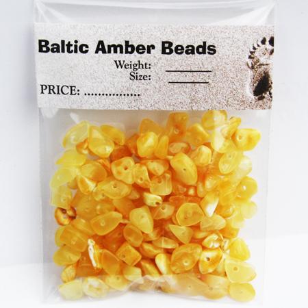 Butterscotch Amber Beads 10 gr.