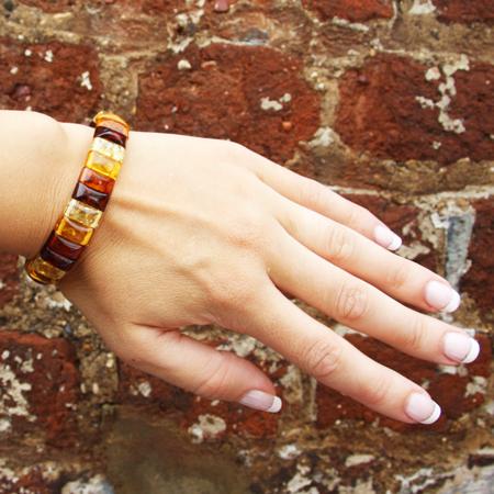 Elegant Amber Bracelet