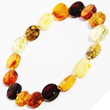 Mixed Amber Bracelet 159