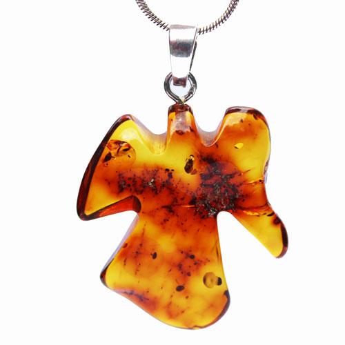 Amber Pendant Angel-Cross10