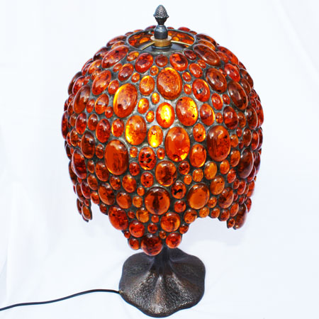 Charming Baltic Amber Lamp 5
