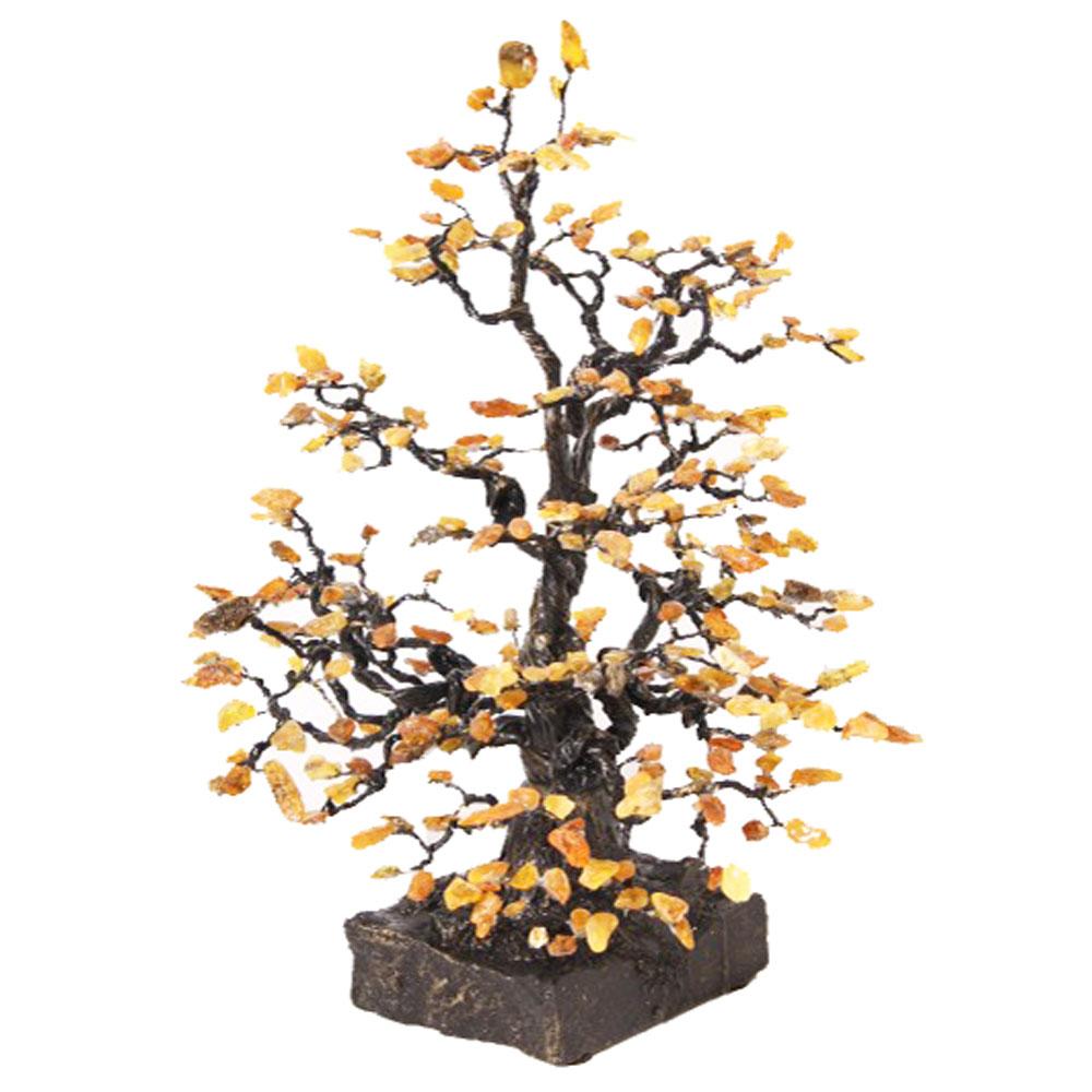Large Amber Tree 40cm
