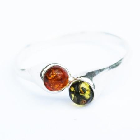 Baltic Amber Ring 1005