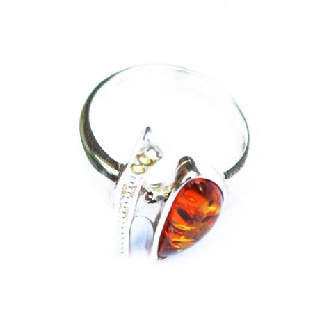 Honey Amber Ring 3095