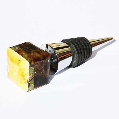Amber Wine Stopper-2