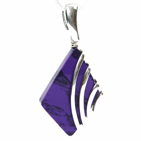Purple Charoite Pendant 2209