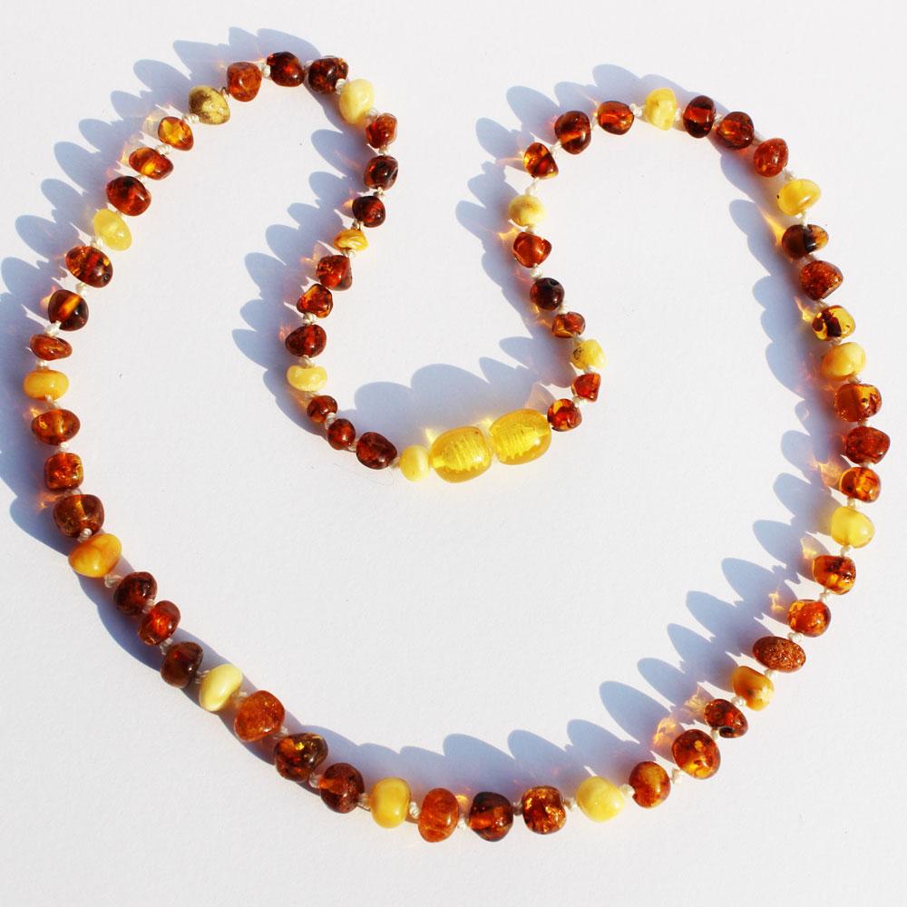 Multicolour round bead Necklace