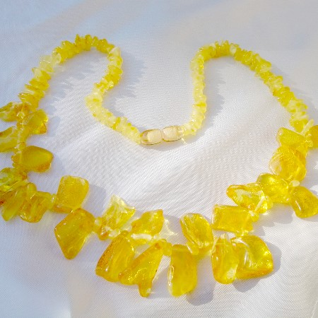Amber Necklace 5456