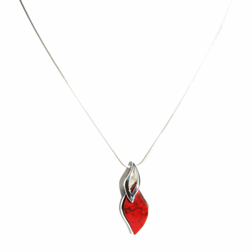 Red Coral Pendant 1310