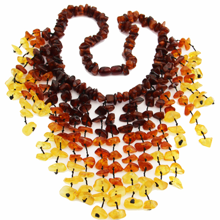 Amber Necklace Royal 8