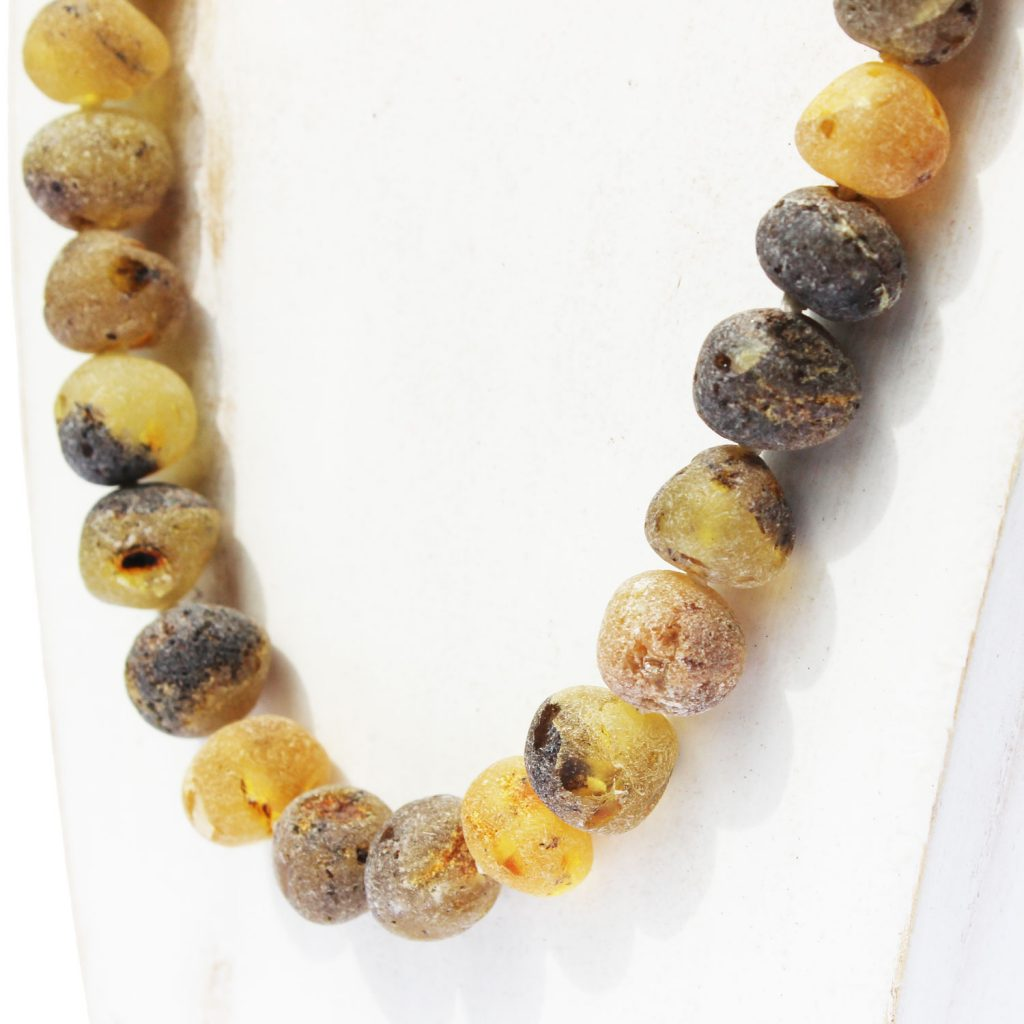 Unpol Butterscotch Necklace Round Bead