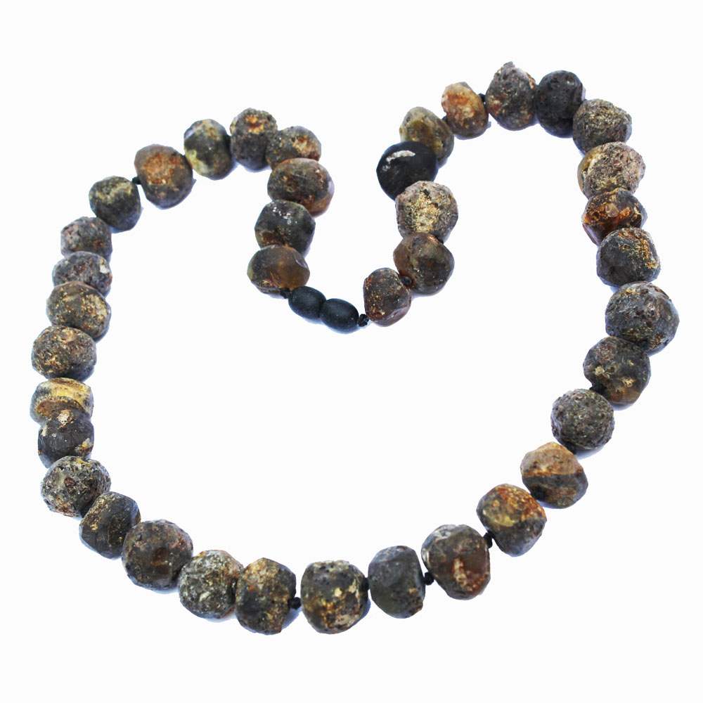 Unpol Grey Necklace Round Bead