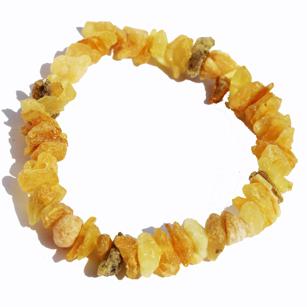 Unpolished Amber Bracelet 3